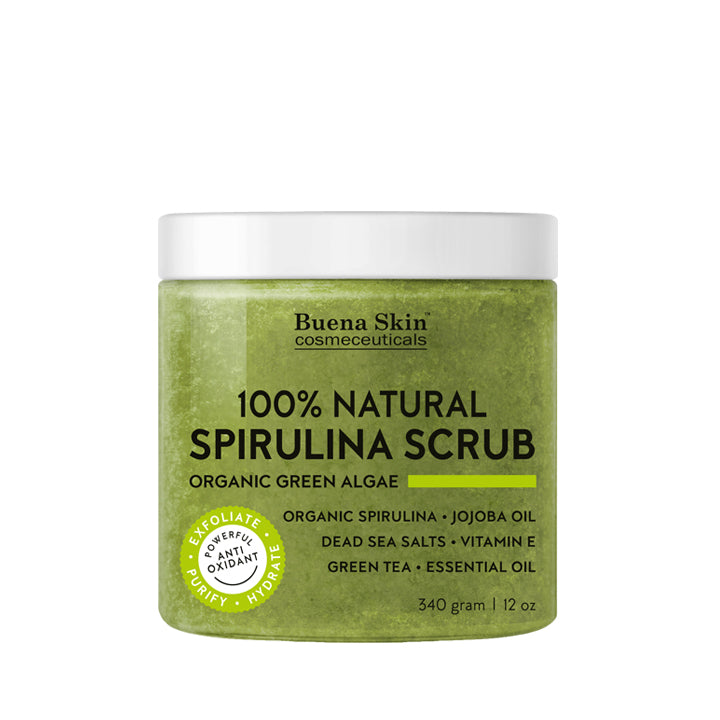 Spirulina Body Scrub 12oz
