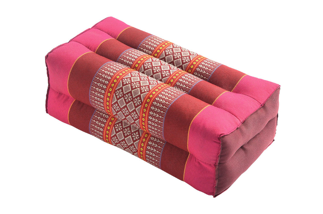 Standard Meditation and Yoga Cushion - Pink / Red Ruby