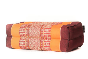 Meditation Pillow Standard Burgundy/Orange