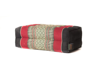 Standard Meditation Cushion Black Red