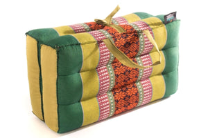 Green Meditation Cushion Foldable