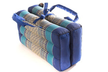 Blue Foldable Meditation Cushion Medium