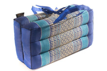 Medium Blue Foldable Meditation Cushion