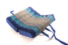 Foldable Medium Meditation Cushion BLue