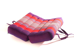 Foldable Meditation Cushion Purple Medium