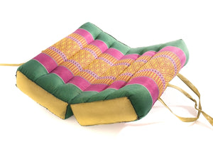 Zafuko Foldable meditation Cushion Green