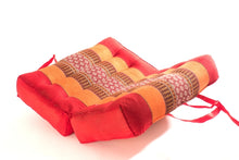 Red Foldable Meditation Pillow