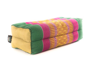 Standard meditation cushion green yellow