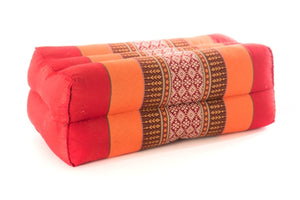 Standard Meditation Pillow Orange Red