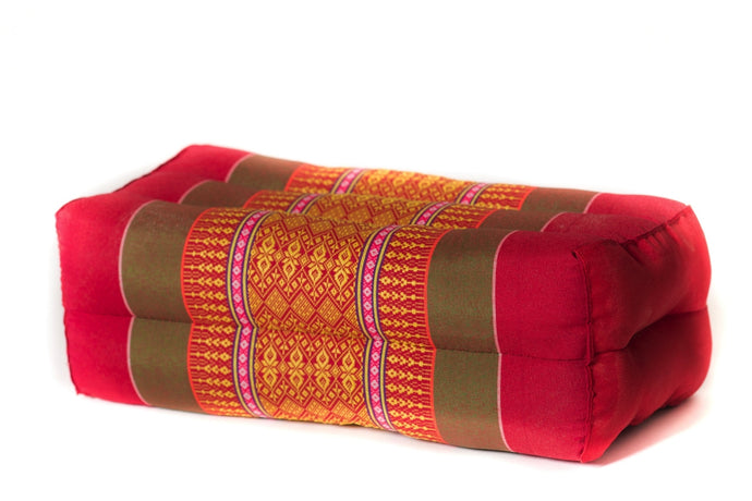 Standard Meditation Pillow Ruby Gold