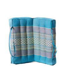 Foldable Meditation Cushion Large Blue