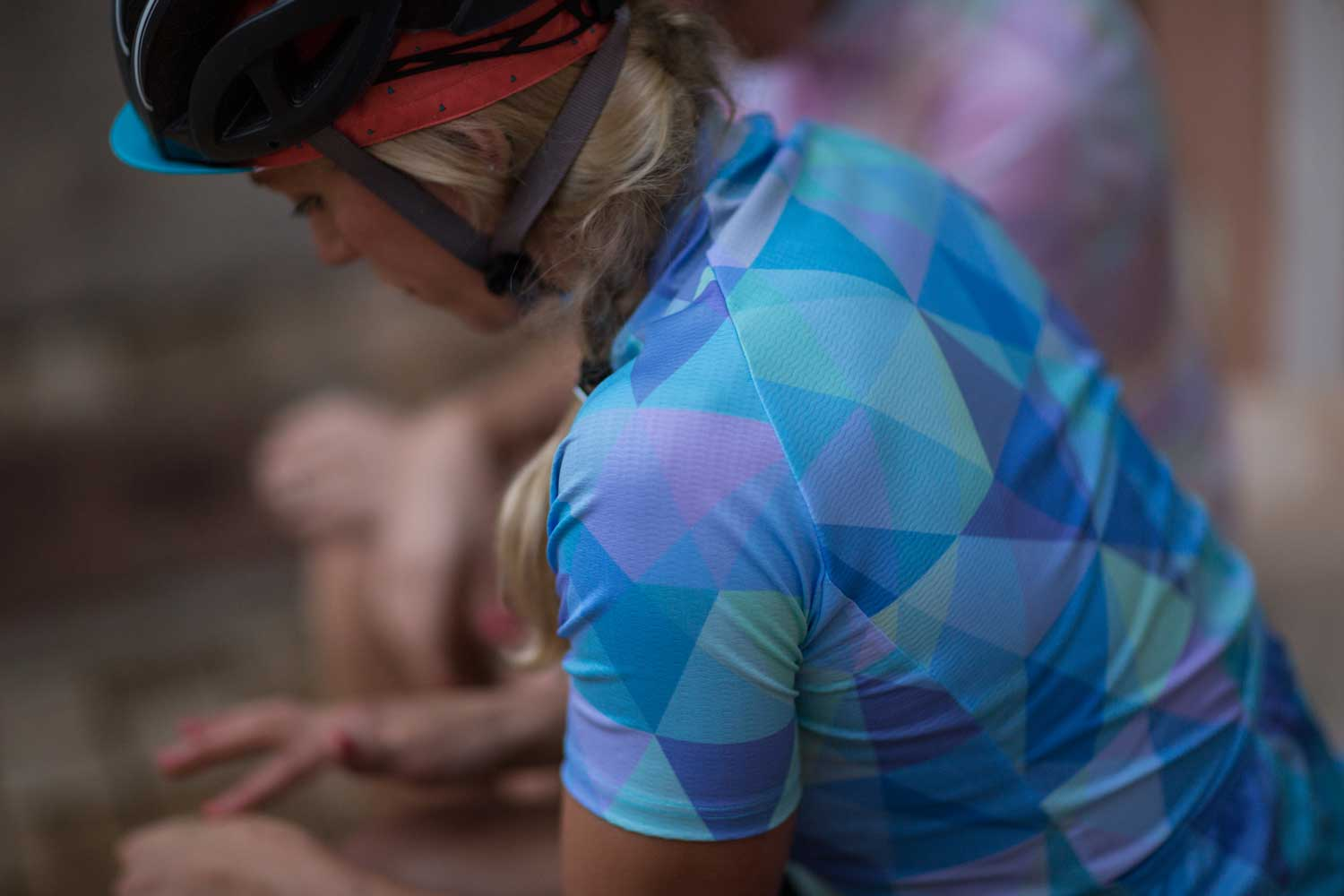 Queen of the Mountains Classic Jersey in Azure
