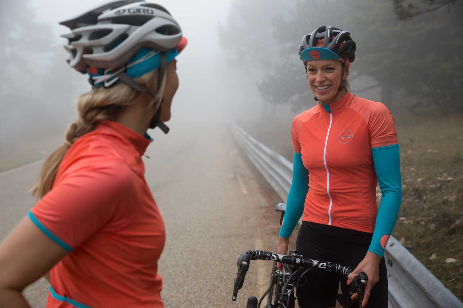 Queen of the Mountains Race Jersey in Coral