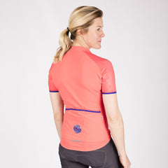 Race Jersey - Hot Coral
