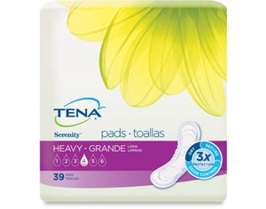 Incontinence Liner TENA¬ Serenity¬ Heavy Absorbency Polymer Unisex Disposable BG of 39
