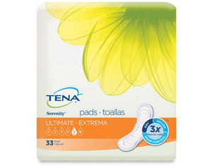 Incontinence Liner TENA¬ Serenity¬ Heavy Absorbency Polymer Unisex Disposable BG of 33
