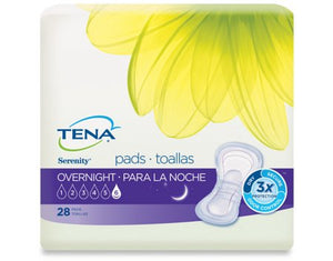Bladder Control Pad TENA¬ Serenity¬ Heavy Absorbency Dry-Fast Core» Unisex Disposable CS of 84