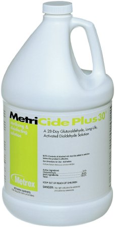MetriCide Plus 30¨ Glutaraldehyde High Level Disinfectant Activation Required Liquid 1 gal. Jug Max 28 Day Reuse