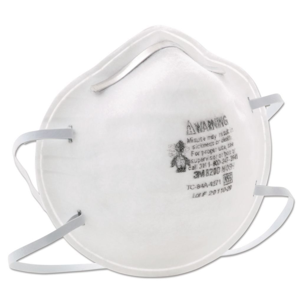 3M 8200 N95 Particulate Respirator, Box of 20