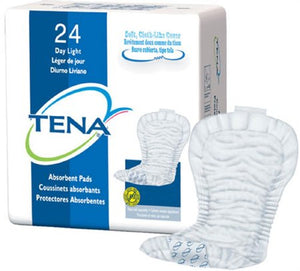 Incontinence Liner Tena Day Regular Light Absorbency Unisex Disposable PK of 46