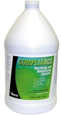 Compliance Surface Disinfectant Cleaner Liquid 1 gal. Container