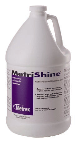 MetriShineª Descaler / Rust Remover Liquid Concentrate 1 Gallon Jug Burnt Sugar Scent