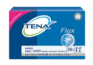 Adult Incontinent Belted Undergarment TENA¬ Flex» Super Pull On Size 20 Disposable Heavy Absorbency PK of 30