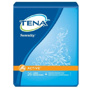 Bladder Control Pad TENA¬ Serenity¬ Active» 8 Inch Length Light Absorbency Polymer Female Disposable PK of 26