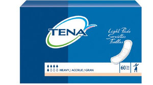Bladder Control Pad TENA¬ Heavy 12 Inch Length Heavy Absorbency Polymer Unisex Disposable CS of 180