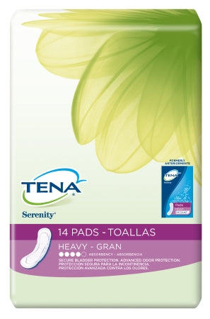 Bladder Control Pad TENA¬ Serenity¬ 13 Inch Length Heavy Absorbency Polymer Female Disposable CS of 84