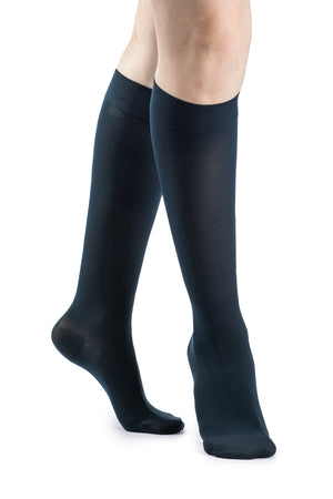 SIGVARIS Women's SOFT OPAQUE 840 Compression 30-40mmHg