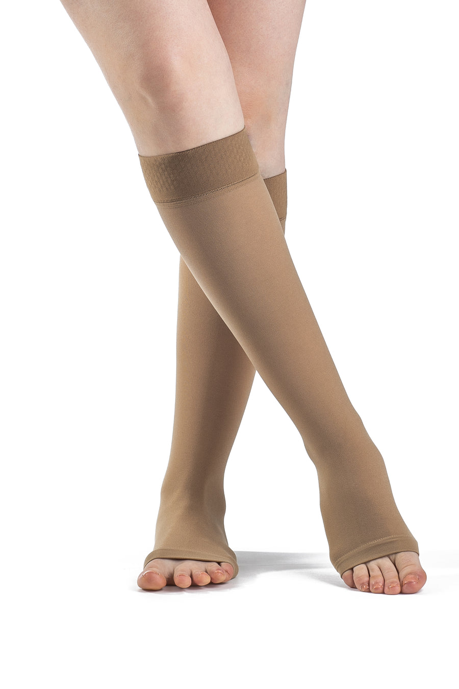 SIGVARIS SELECT COMFORT 860 Compression  with Grip-Top 30-40mmHg