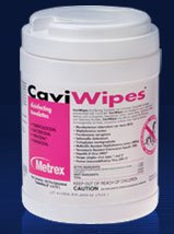 CaviWipesª Surface Disinfectant Premoistened Wipe 220 Count Canister