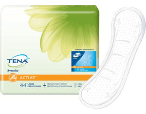 Bladder Control Pad TENA¬ Serenity¬ Active» 9 Inch Length Light Absorbency Polymer Female Disposable CS of 176