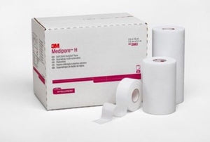 "3M 2861 TAPE MEDIPORE H 1""X10YD Pack of  2"