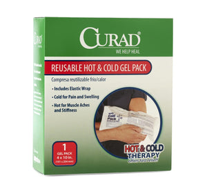 CURAD Hot & Cold Gel Pack, Case fo 24 Box