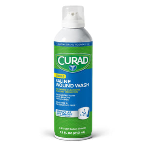 Curad Saline Wound Flush Spray,7.100 OZ, Each