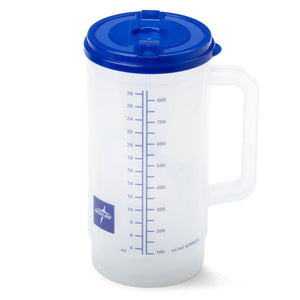 Insulated Carafes,Clear W/Blue Lid,32.000 OZ, Each