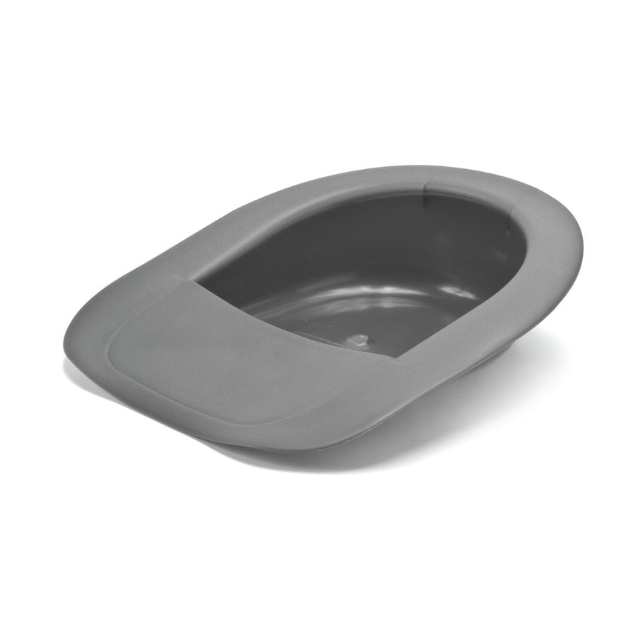Bariatric Bedpans,Graphite, Case of 4