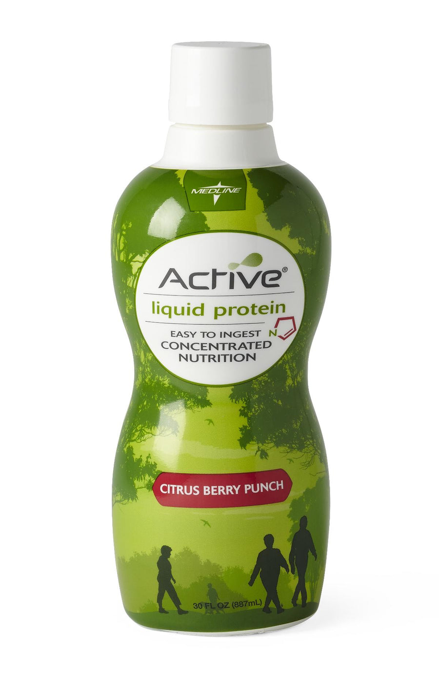 Active Liquid Protein Nutritional Supplement,30.000 OZ, Case of 4