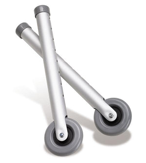 "3"" Wheels For Walkers, Pair"