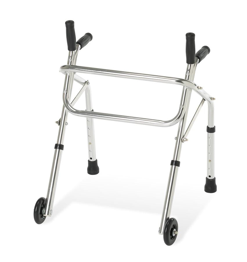 "Pediatric Non-Folding Walker,3"", Each"