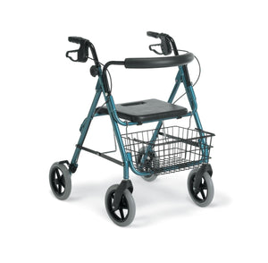 "Guardian Deluxe Rollators with 8"" Wheels,Blue,8"", Each"