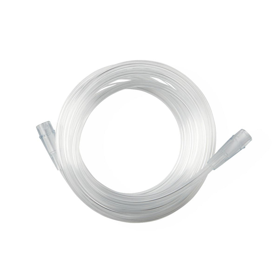 Crush-Resistant Oxygen Tubing,Clear, Case of 50