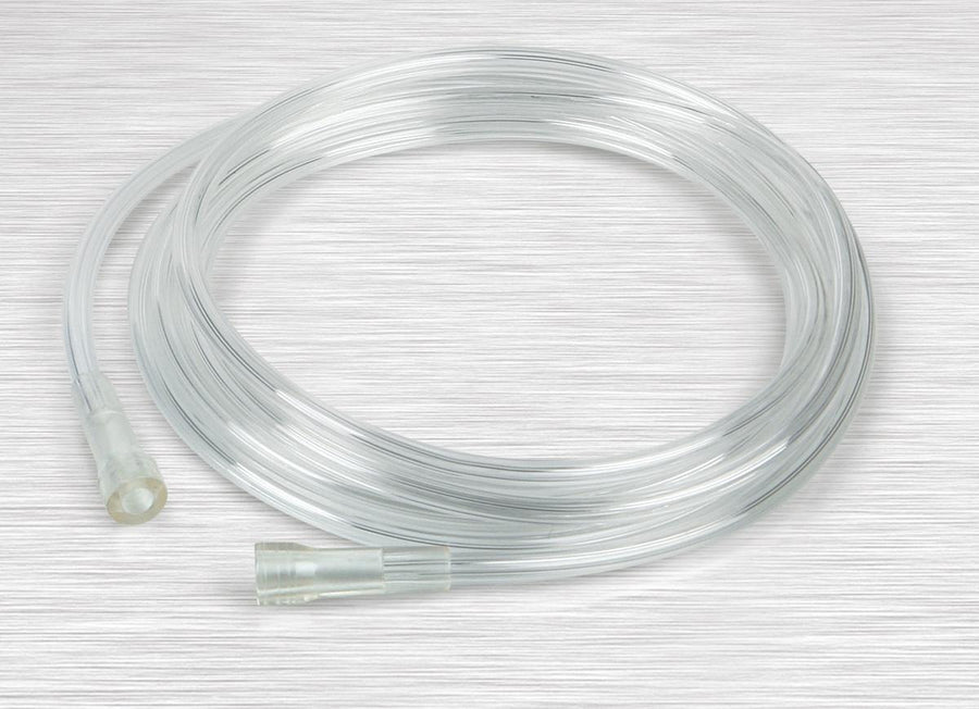 Crush-Resistant Oxygen Tubing,Clear, Case of 10