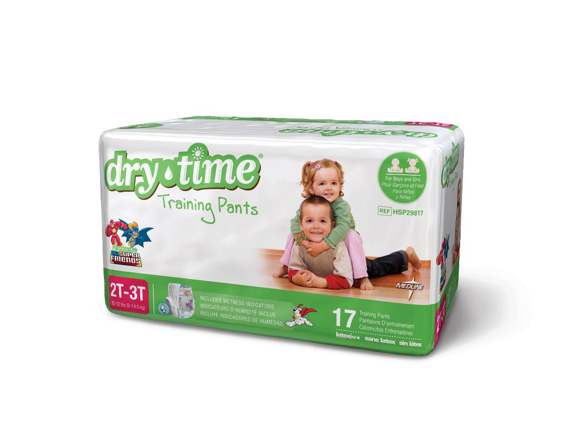 DryTime Disposable Training Pants