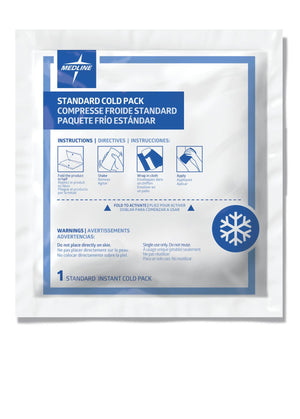 Standard Instant Cold Packs, Case of 50