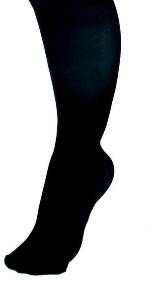 CURAD Knee-High Compression Hosiery,Black,D, Each