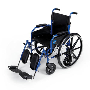 Hybrid 2 Transport Wheelchair Chairs,F: 8   R: 24, Case of 1