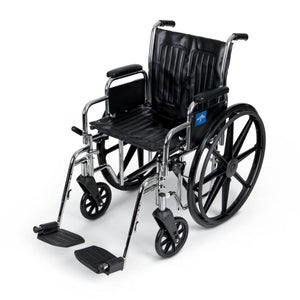 "2000 Wheelchairs, 20"", RDLA, S/AFOOT, 300 Lb. Each"
